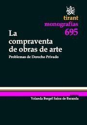 COMPRAVENTA DE OBRAS DE ARTE, LA PROBLEMAS DE DERECHO PRIVADO