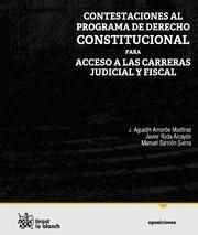 CONTESTACIONES A LAS CARRERAS JUDICIAL Y FISCAL