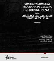 CONTESTACIONES AL PROGRAMA DE DERECHO PROCESAL PENAL, PARA ACCESO A LAS CARRERAS JUDICIAL Y FISCAL