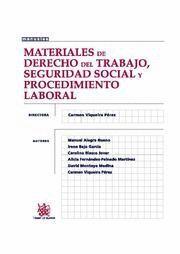 MATERIALES DE DERECHO DEL TRABAJO, SEGURIDAD SOCIAL Y PROCEDIMIENTO LABORAL