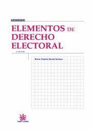 ELEMENTOS DE DERECHO ELECTORAL