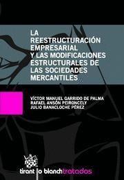 REESTRUCTURACION EMPRESARIAL Y LAS MODIFICACIONES ESTRUCTURALES DE LAS SOCIEDAD MERCANTILES, LA