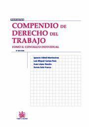 COMPENDIO DE DERECHO DEL TRABAJO II CONTRATO INDIVIDUAL