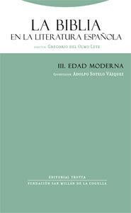 LA BIBLIA EN LA LITERATURA ESPAÑOLA III EDAD MODERNA