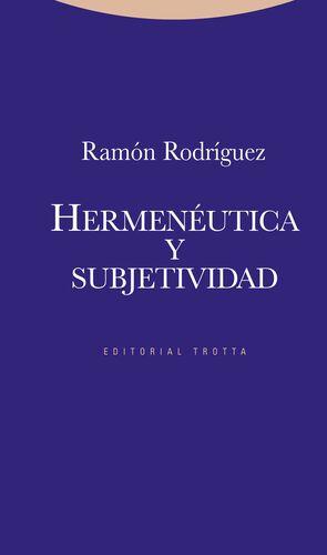 HERMENÉUTICA Y SUBJETIVIDAD