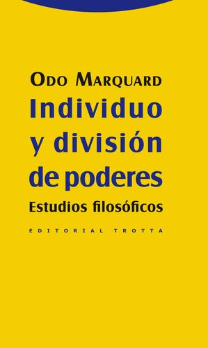INDIVIDUO Y DIVISIÓN DE PODERES