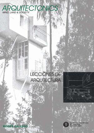LECCIONES DE ARQUITECTURA