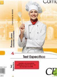 TEST ESPECFICO PERSONAL LABORAL DE LA COMUNIDAD DE MADRID. CATEGORA COCINERO (GRUPO III)