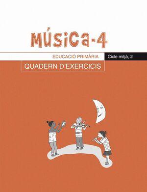 MUSICA, 4 EDUCACIO PRIMARIA, CICLE MITJA. QUADERN D´EXERCICIS