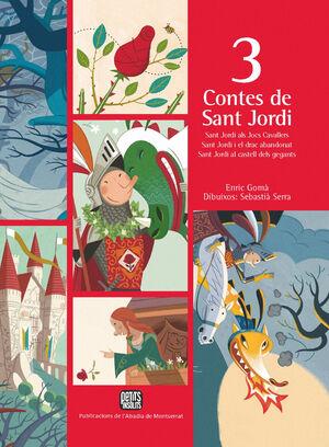 3 CONTES DE SANT JORDI