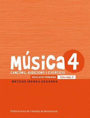 MÚSICA-4. CANÇONS, AUDICIONS I EXERCIS. EDUCACIÓ PRIMÀRIA. CICLE MITJÀ, 2