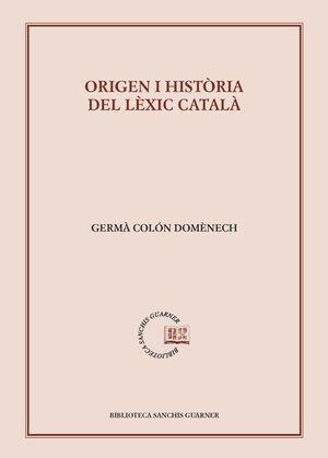 ORÍGEN I HISTÒRIA DEL LÈXIC CATALÀ