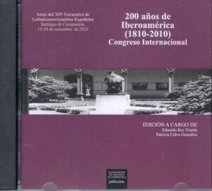 200 AÑOS DE IBEROAMÉRICA (1810-2010), CONGRESO INTERNACIONAL