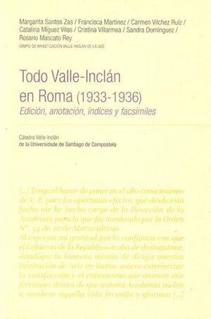 TODO VALLE-INCLÁN EN ROMA (1933-1936)