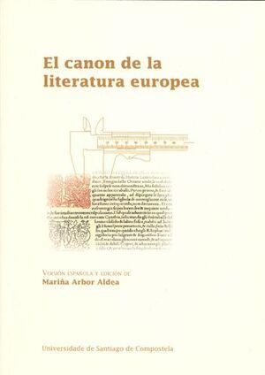 EL CANON DE LA LITERATURA EUROPEA