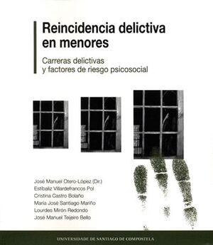 REINCIDENCIA DELICTIVA EN MENORES.