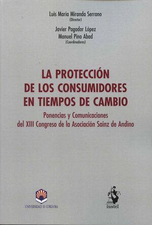 LA PROTECCIÓN DE LOS CONSUMIDORES EN TIEMPOS DE AMBIO
