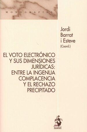 EL VOTO ELECTRÓNICO Y SUS DIMENSIONES JURÍDICAS