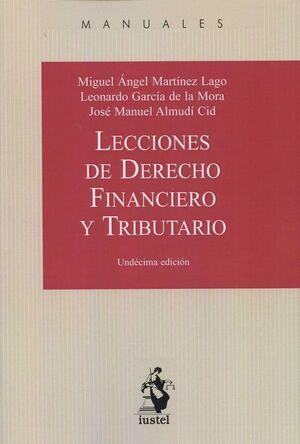 LECCIONES DE DERECHO FNANCIERO Y TRIBUTARIO