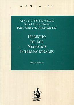 DERECHO DE LOS NEGOCIOS INTERNACIONALES