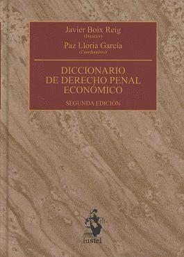 DICCIONARIO DE DERECHO PENAL ECONÓMICO