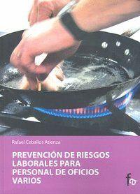 PREVENCIÓN DE RIESGOS LABORALES PARA PERSONAL DE OFICIOS VARIOS