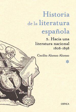 HACIA UNA LITERATURA NACIONAL 1800-1900
