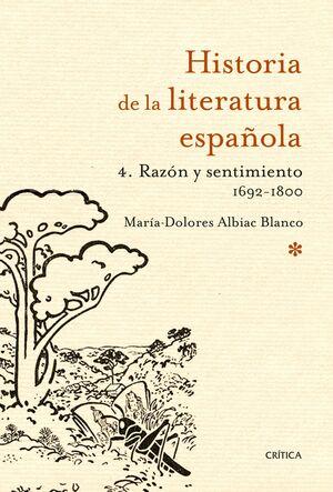 RAZÓN Y SENTIMIENTO 1692-1800