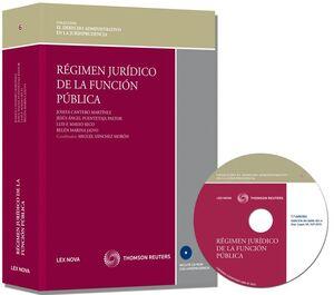 RÉGIMEN JURÍDICO DE LA FUNCIÓN PÚBLICA