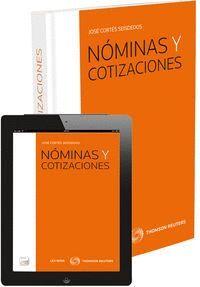 NÓMINAS Y COTIZACIONES (PAPEL + E-BOOK) FORMATO DUO