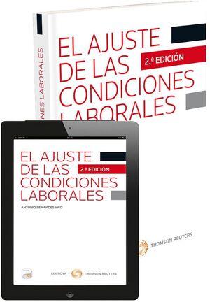 EL AJUSTE DE LAS CONDICIONES LABORALES (PAPEL E-BOOK)