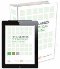 FORMULARIOS DE PROPIEDAD HORIZONTAL (PAPEL + E-BOOK)