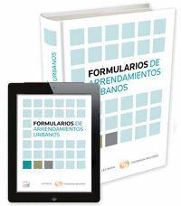 FORMULARIOS DE ARRENDAMIENTOS URBANOS (PAPEL + E-BOOK)