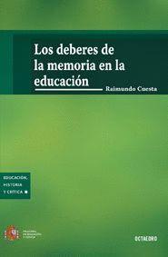 LOS DEBERES DE LA MEMORIA EN LA EDUCACION