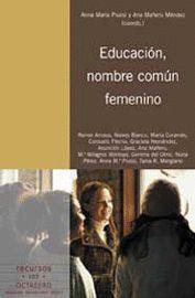 EDUCACIÓN, NOMBRE COMÚN FEMENINO