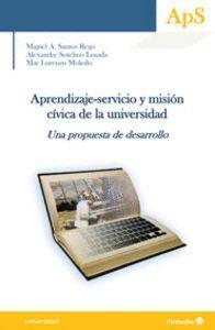 APRENDIZAJE-SERVICIO Y MISIÓN CÍVICA EN LA UNIVERSIDAD