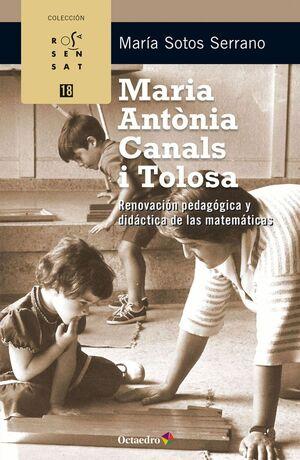 MARIA ANTONIA CANALS I TOLOSA RENOVACION PEDAGOGICA Y DIDACTICA DE LAS MATEMATICAS