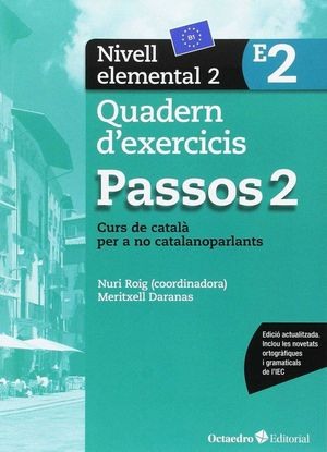 PASSOS 2. QUADERN D'EXERCICIS. NIVELL ELEMENTAL 2