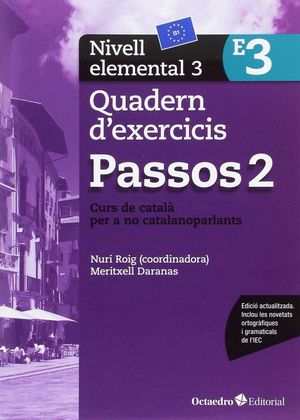 PASSOS 2. QUADERN D'EXERCICIS. NIVELL ELEMENTAL 3