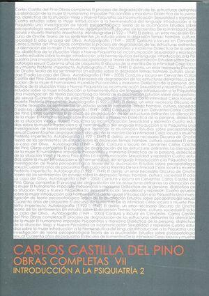 CARLOS CASTILLA DEL PINO. OBRAS COMPLETAS VII