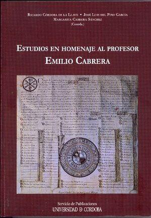 ESTUDIOS EN HOMENAJE AL PROFESOR EMILIO CABRERA