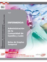 ENFERMERO/A DE LA ADMINISTRACIÓN DE CASTILLA Y LEÓN. BOLSA DE EMPLEO TEMPORAL.