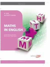 MATHS IN ENGLISH 2º ESO ACTIVITY BOOK
