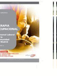 TERAPIA OCUPACIONAL GRUPO II PERSONAL LABORAL DE LA COMUNIDAD DE MADRID. TEST