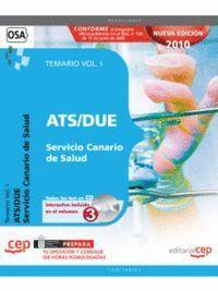 ATS/DUE SERVICIO CANARIO DE SALUD. TEMARIO VOL. I.