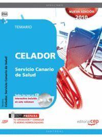 CELADOR DEL SERVICIO CANARIO DE SALUD. TEMARIO