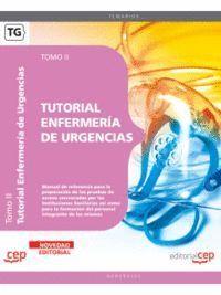 TUTORIAL ENFERMERÍA DE URGENCIAS. TOMO II