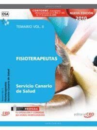 FISIOTERAPEUTAS DEL SERVICIO CANARIO DE SALUD. TEMARIO VOL. II.
