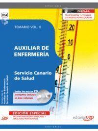 AUXILIAR DE ENFERMERA SERVICIO CANARIO DE SALUD. TEMARIO VOL. II. EDICION ESPECIAL