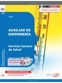 AUXILIAR DE ENFERMERA SERVICIO CANARIO DE SALUD. TEST EDICION ESPECIAL